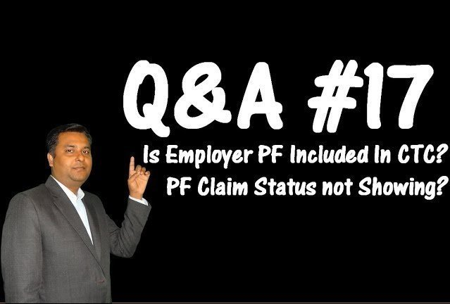 Is Employer PF Contribution included in CTC