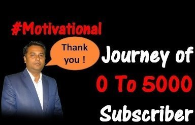 Motivational Story (Never Ever Give Up) 0 to 5000 Subs